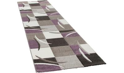 Paco Home Läufer »Lara 235«, rechteckig, 18 mm Höhe, Teppich-Läufer, gewebt, kariertes... kaufen
