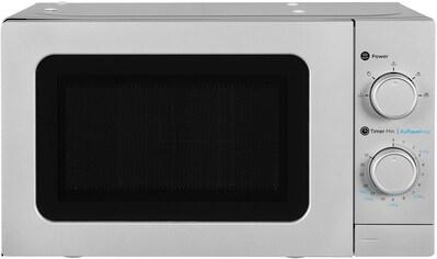 exquisit, Mikrowelle »WP 700 J17 - 3 si«, Mikrowelle kaufen