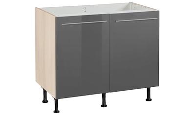 OPTIFIT Spülenschrank »Bern«, 100 cm breit, mit 2 Türen, mit höhenverstellbaren Füßen,... kaufen