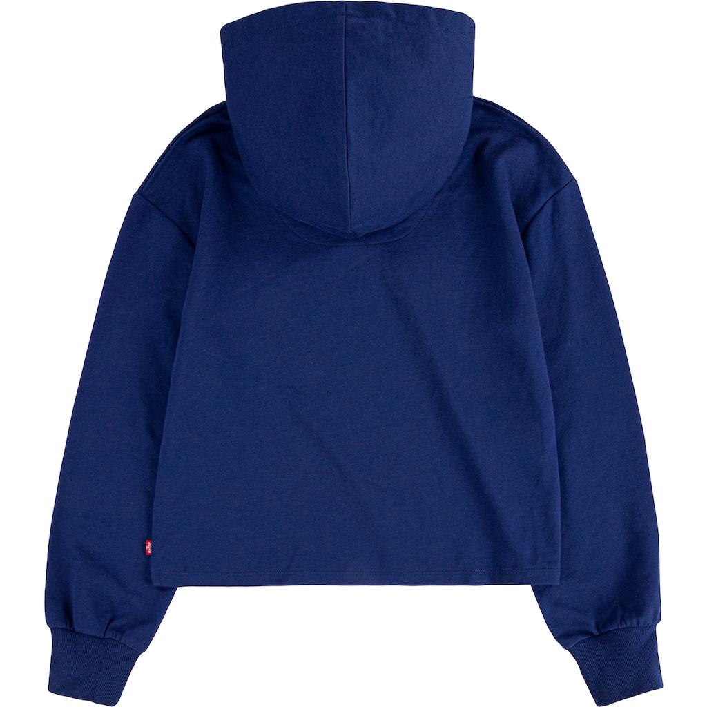 Levi's Kidswear Kapuzensweatshirt, in kurzer Form