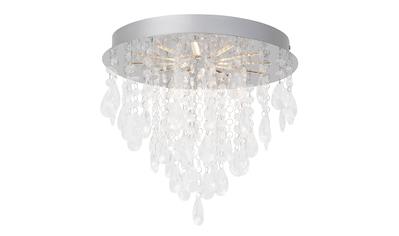 Brilliant Leuchten Alica LED Deckenleuchte 33cm chrom/transparent kaufen