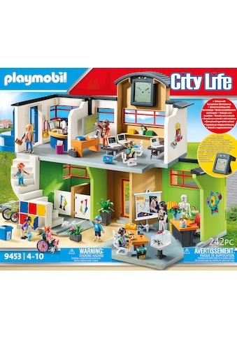 Playmobil® Konstruktions-Spielset »Große Schule mit Einrichtung (9453), City Life«,... kaufen