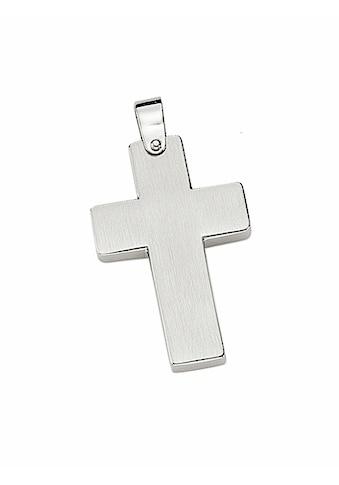 Adelia´s Kettenanhänger »Edelstahl Kreuz Anhänger«, Edelstahlschmuck für Herren kaufen