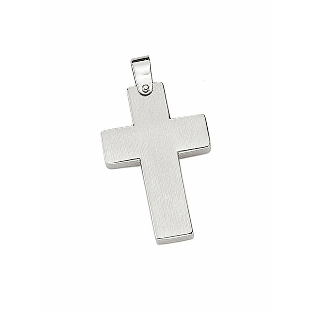 Adelia´s Kettenanhänger »Edelstahl Kreuz Anhänger«, Edelstahlschmuck für Herren