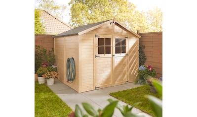 KONIFERA Gartenhaus »Osterbek 4«, BxT: 259x251 cm, inkl. Fußboden kaufen