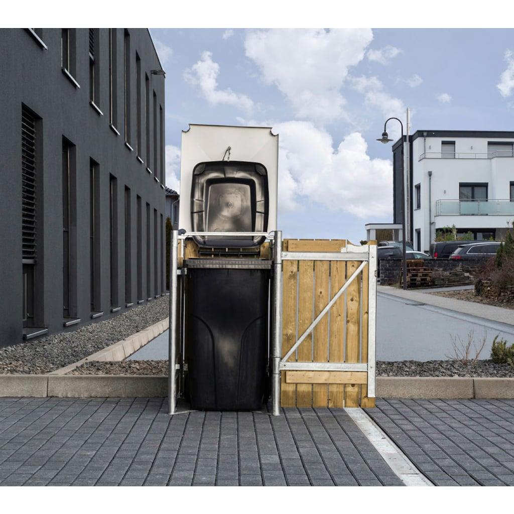 Hide Mülltonnenbox, für 1 x 240 l, natur