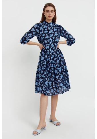 Finn Flare Jerseykleid, mit floralem Alloverdruck kaufen