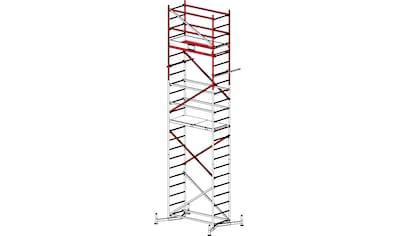 KRAUSE Fahrgerüst »CORDA«, Max. Arbeitshöhe: 7 m, 2 Aufstockung kaufen
