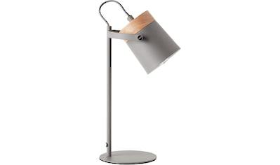 Lüttenhütt Tischleuchte »Hilla«, E14, grau, E14, max. 25W, H: 36 cm kaufen