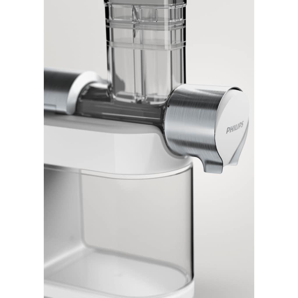 Philips Slow Juicer »Avance HR1945/80«, 200 W, für kaltes Pressen, weiß/grau