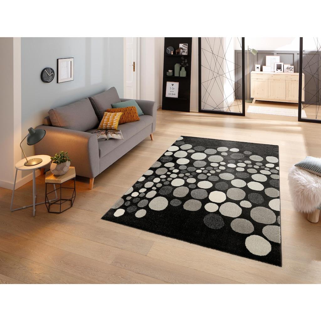 my home Teppich »Belinda«, rechteckig, 14 mm Höhe, weiche Haptik, Wohnzimmer
