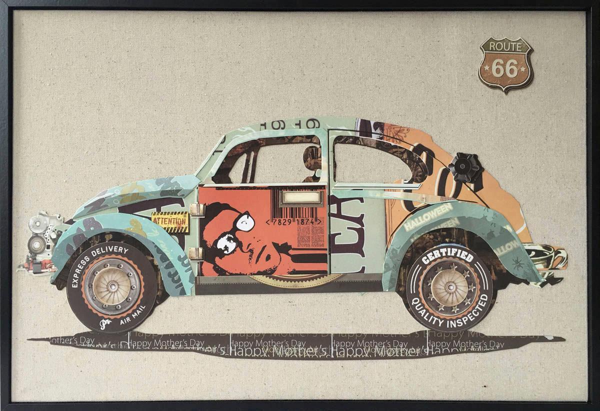 Wandbild »Automobil«, Auto