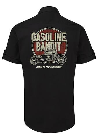 GASOLINE BANDIT® Hemd mit coolem Rückenprint kaufen