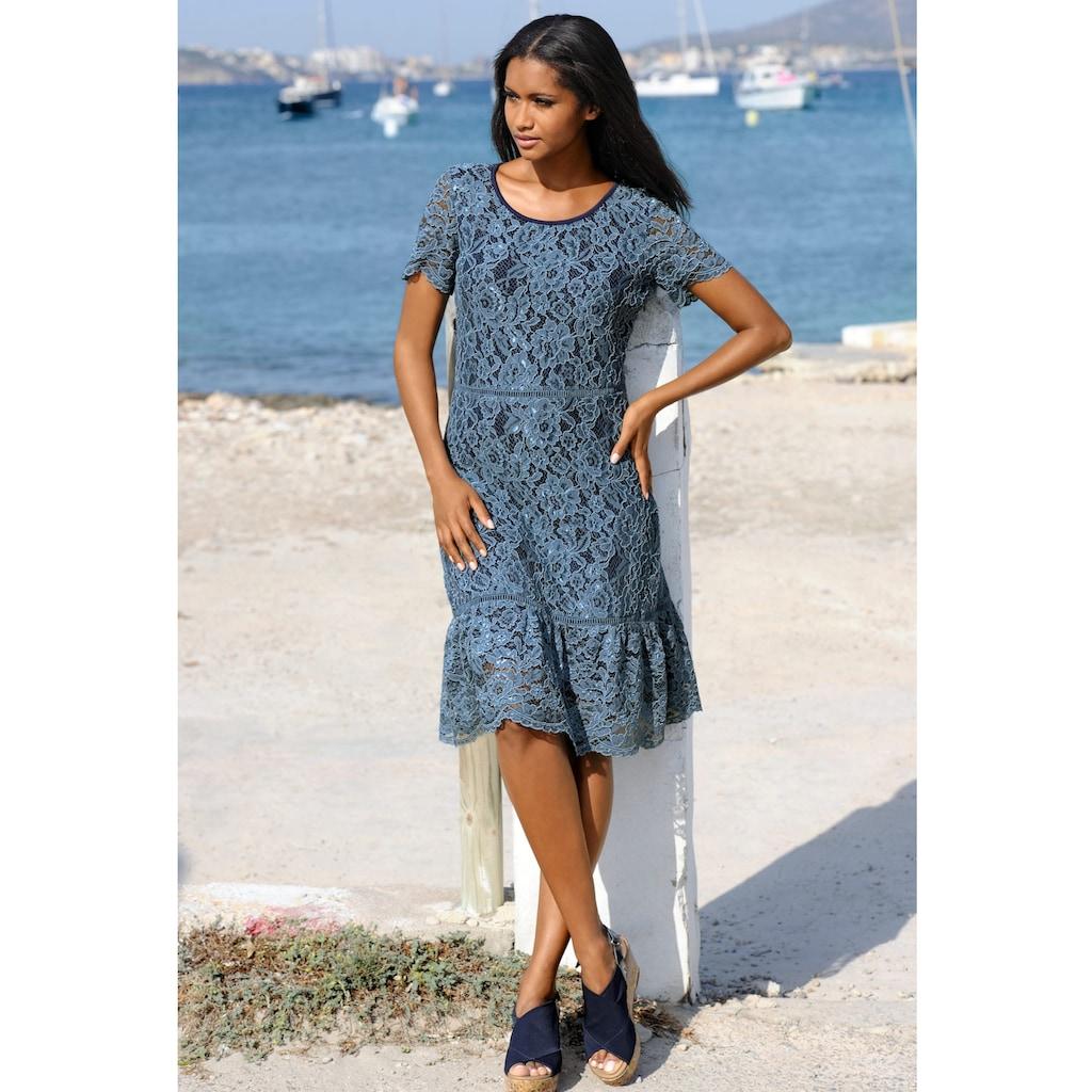 Alba Moda Strandkleid aus Spitze