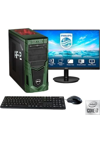"Hyrican Gaming-PC-Komplettsystem »Military SET02094«, inklusive 27"" Monitor Philips... kaufen"