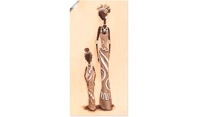 Artland Wandbild »Afrikanerin  -  mit Kind« kaufen