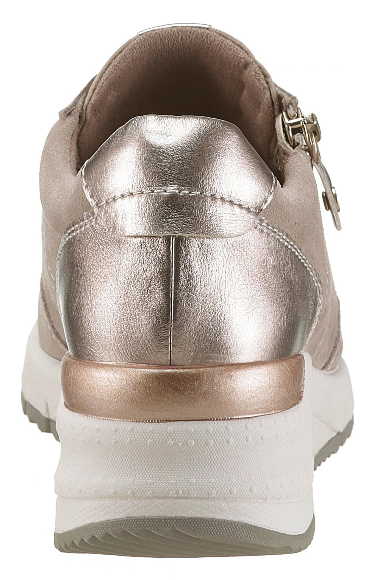 Schuhe Keilsneaker Damenmode Damen Rea Wedgesneaker Tamaris wOY0x