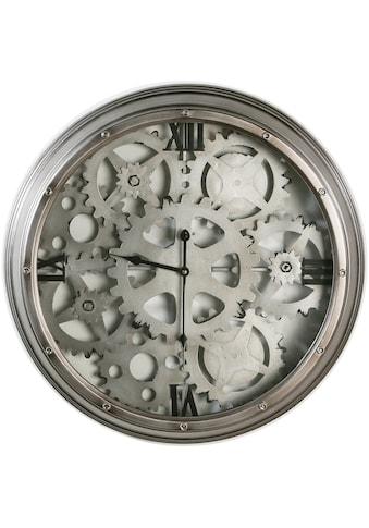 Casablanca by Gilde Wanduhr »Loft, silberfarben«, groß, rund, Ø 57 cm, aus Metall,... kaufen