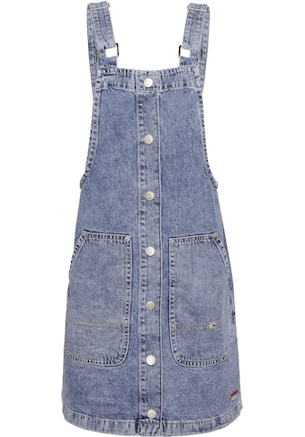 TOMMY JEANS Latzkleid »SHORT DUNGAREE SNAP DRESS MMBRG« kaufen