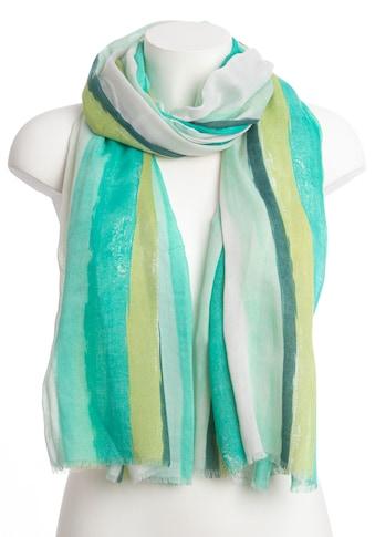 CASSANDRA Schal »Streifenliebe«, mit toller Farbkombination kaufen