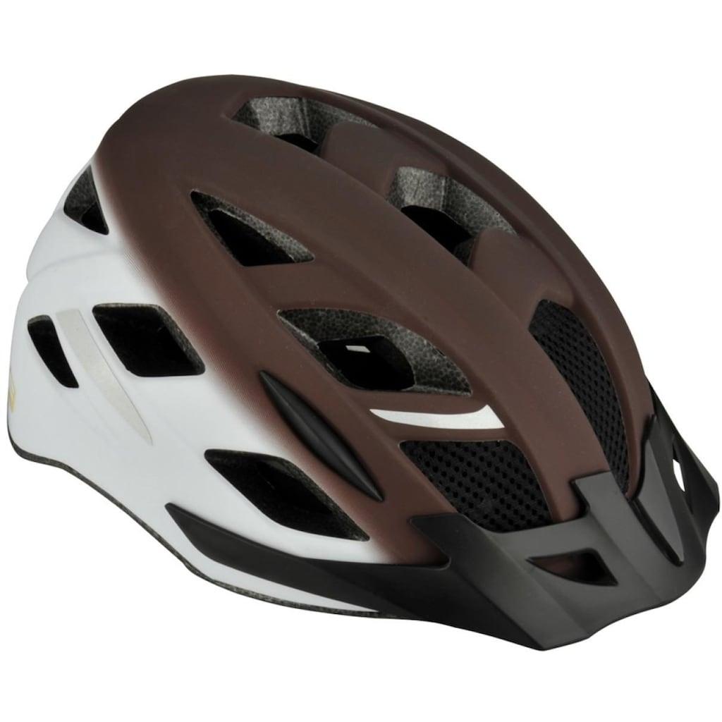 FISCHER Fahrräder Fahrradhelm »Fahrradhelm Urban Retro S/M«, Verstellbarer Innenring-System; mit beleuchtetem Innenring-System