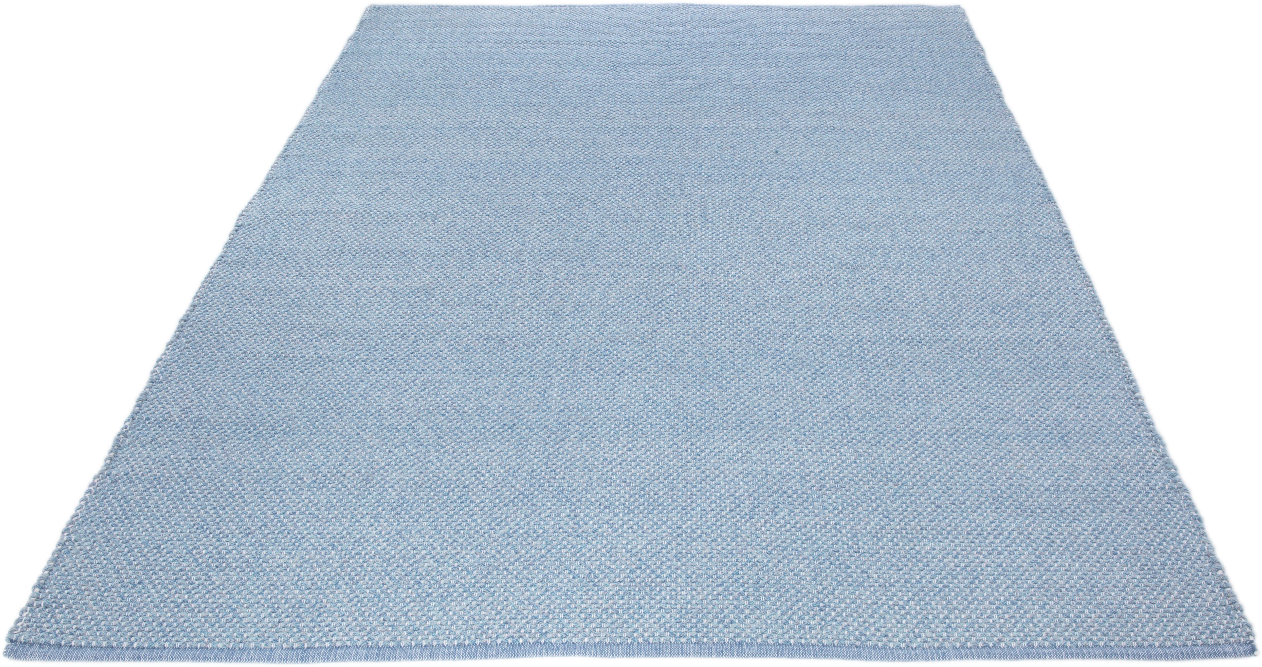 Teppich Liv Wohnidee rechteckig Höhe 12 mm handgewebt
