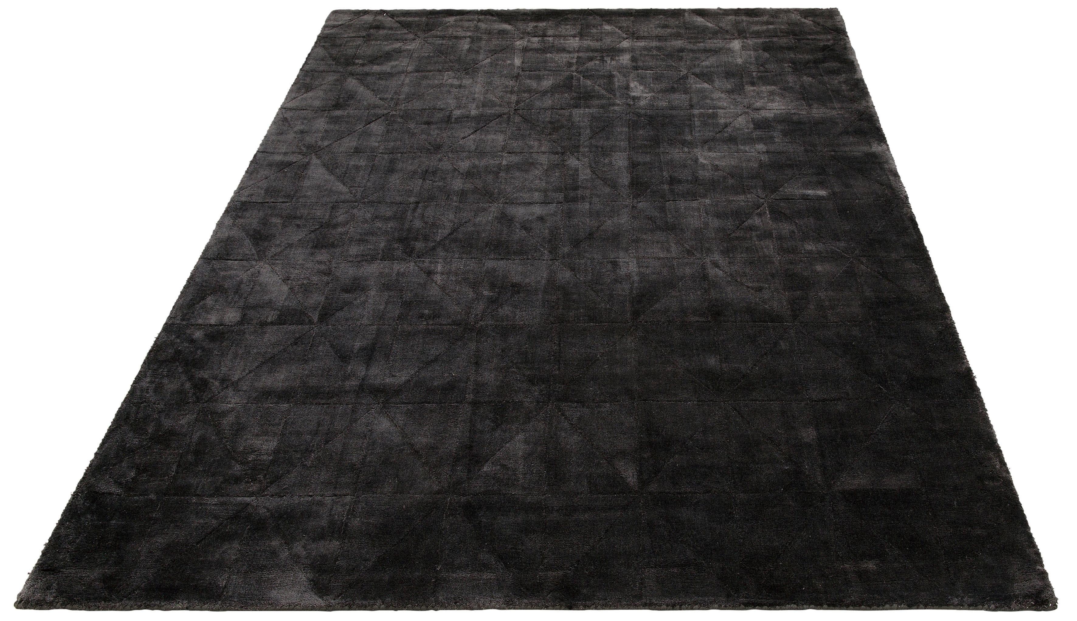 Teppich Pyramid Leonique rechteckig Höhe 14 mm handgewebt