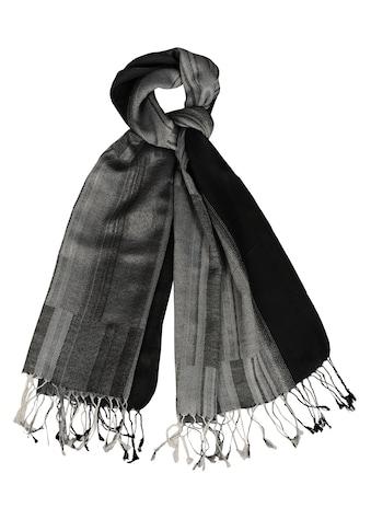 Silvio Tossi Modeschal, mit modischen Fransen kaufen