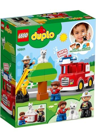 """LEGO® Konstruktions - Spielset """"Feuerwehrauto (10901), LEGO® DUPLO™"""", (21 - tlg.) kaufen"""