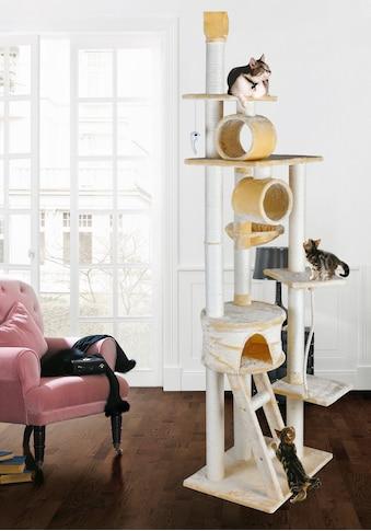 SILVIO design Kratzbaum »Mikesch«, hoch, BxTxH: 80x60x240-250 cm kaufen