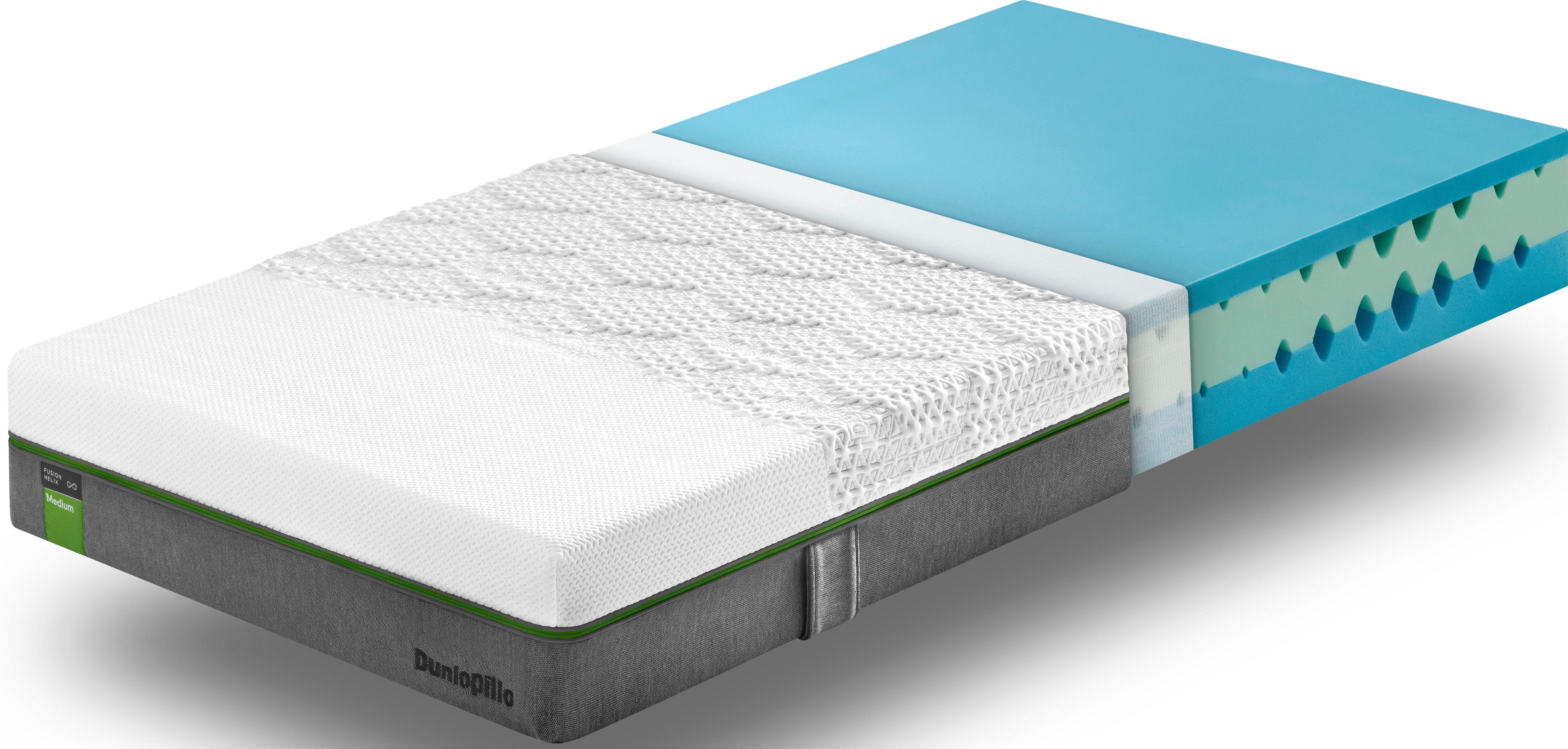 Kaltschaummatratze Fusion Helix Medium Dunlopillo better sleep 23 cm hoch
