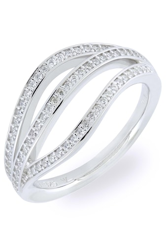VILMAS Silberring »Tropfen, DRIP, 4028146548688, 695, 701«, mit Zirkonia kaufen