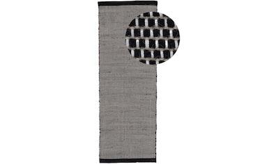carpetfine Läufer »Mona«, rechteckig, 5 mm Höhe, Wendeteppich aus Wolle/Baumwolle kaufen