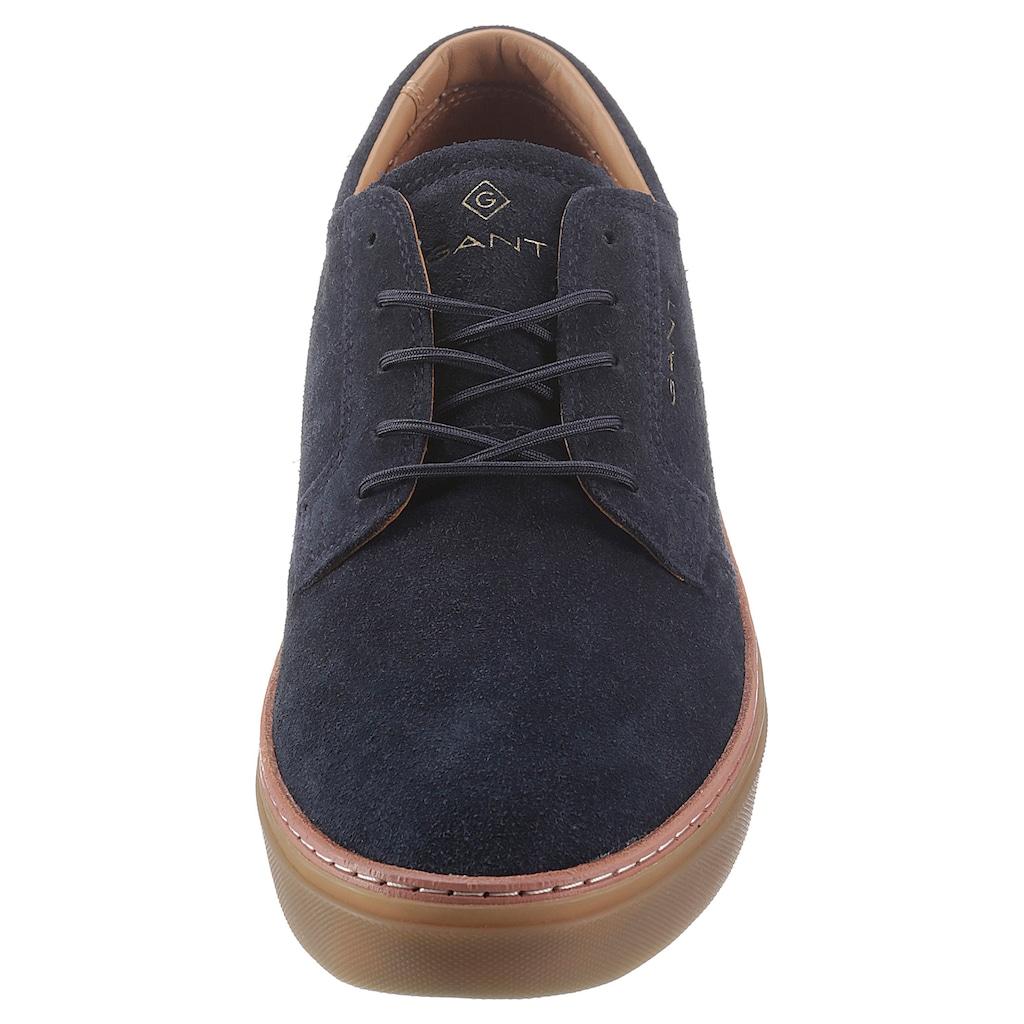 Gant Footwear Schnürschuh »Prepville«, mit Logostickerei
