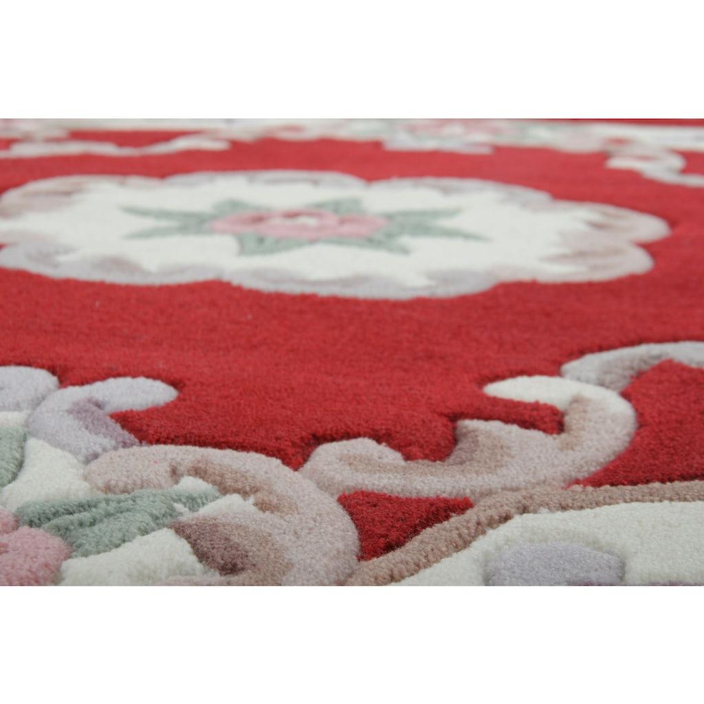 THEKO Teppich »Ming«, rund, 14 mm Höhe, hochwertiges Acrylgarn
