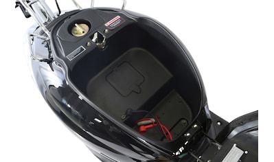 Alpha Motors Motorroller »Retro Firenze«, 3 PS, 50 ccm, 45 km/h, schwarz inkl. Topcase kaufen