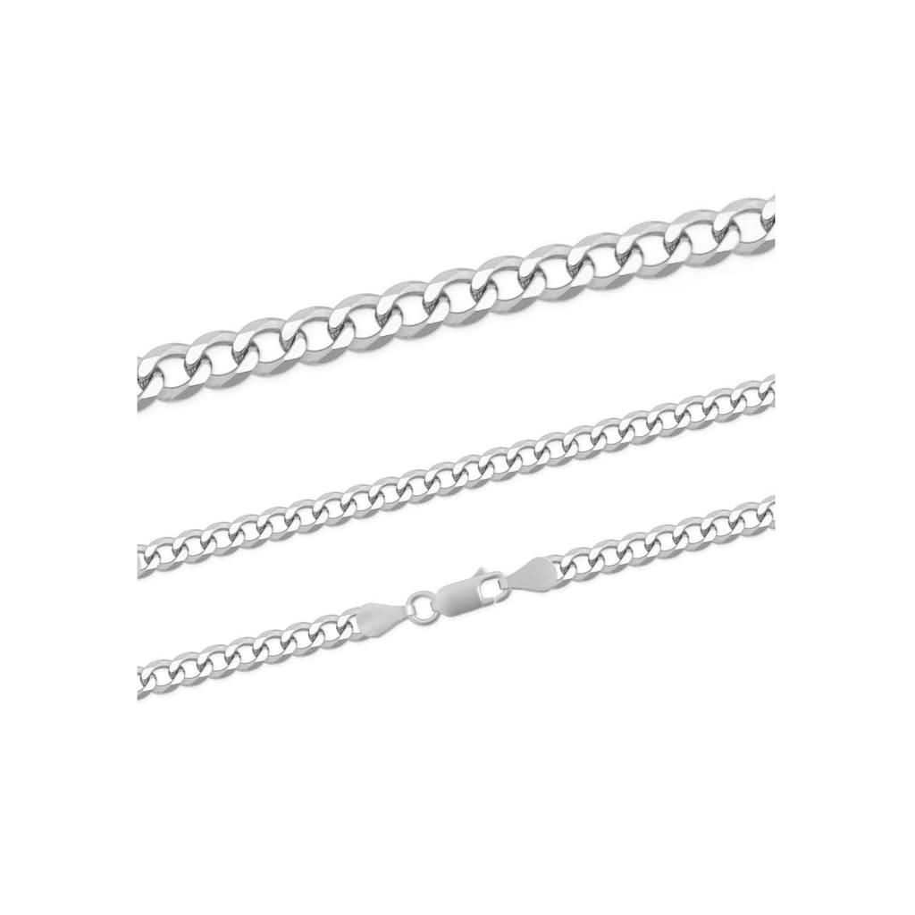 Firetti Silberkette »Panzerkette, glänzend, rhodiniert, massiv«