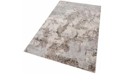 Teppich, »Edina«, merinos, rechteckig, Höhe 12 mm, maschinell gewebt kaufen