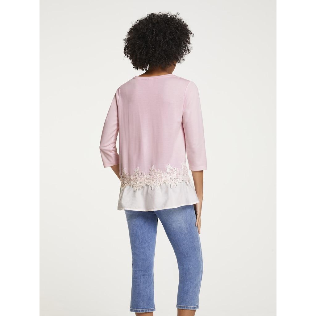 Shirt mit Schößchen
