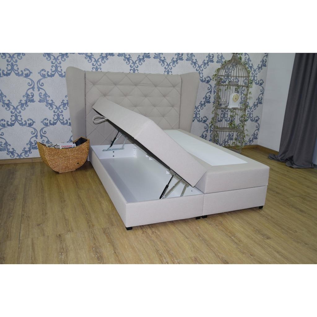 Guido Maria Kretschmer Home&Living Boxspringbett »Westpoort«, inkl. Bettkasten