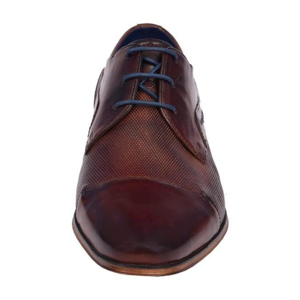 bugatti Schnürschuh »Morino«, mit Handfinish im Used-Look