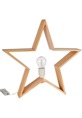 LED Stern »Leuchte Sternenlicht«, bernsteinfarben, Ø ca. 46 cm, mit... kaufen