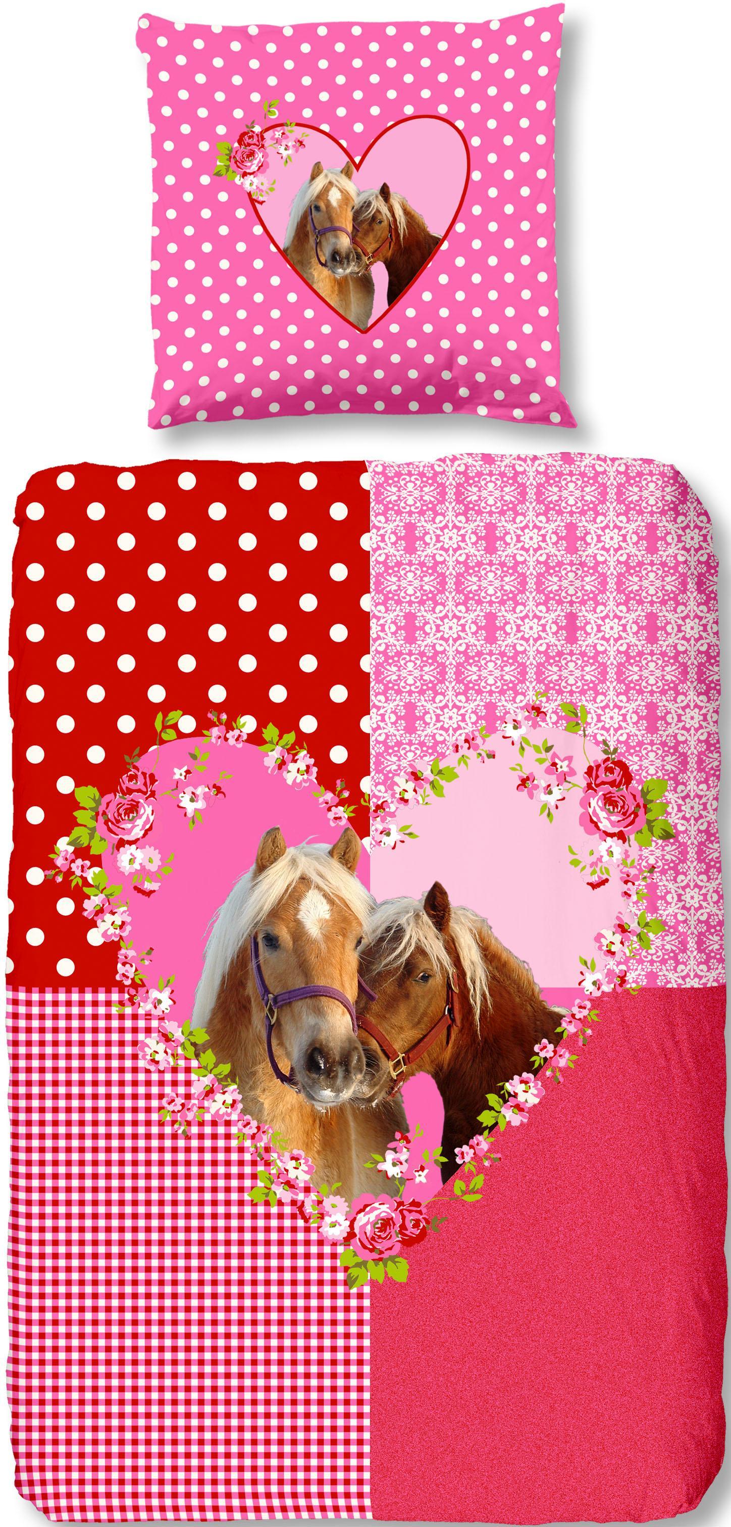 Bettwäsche Sweet Horse good morning