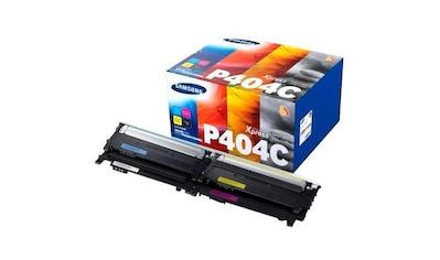 Samsung Tonerpatrone »Kombi-Pack CLT-P404C original, SU365A Schwarz, Cyan, Magenta, Gelb« kaufen