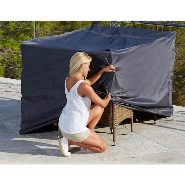 KONIFERA Schutzhülle »Santiago Deluxe«, Gartenmöbelset, (L/B/H) 172x118x106 cm