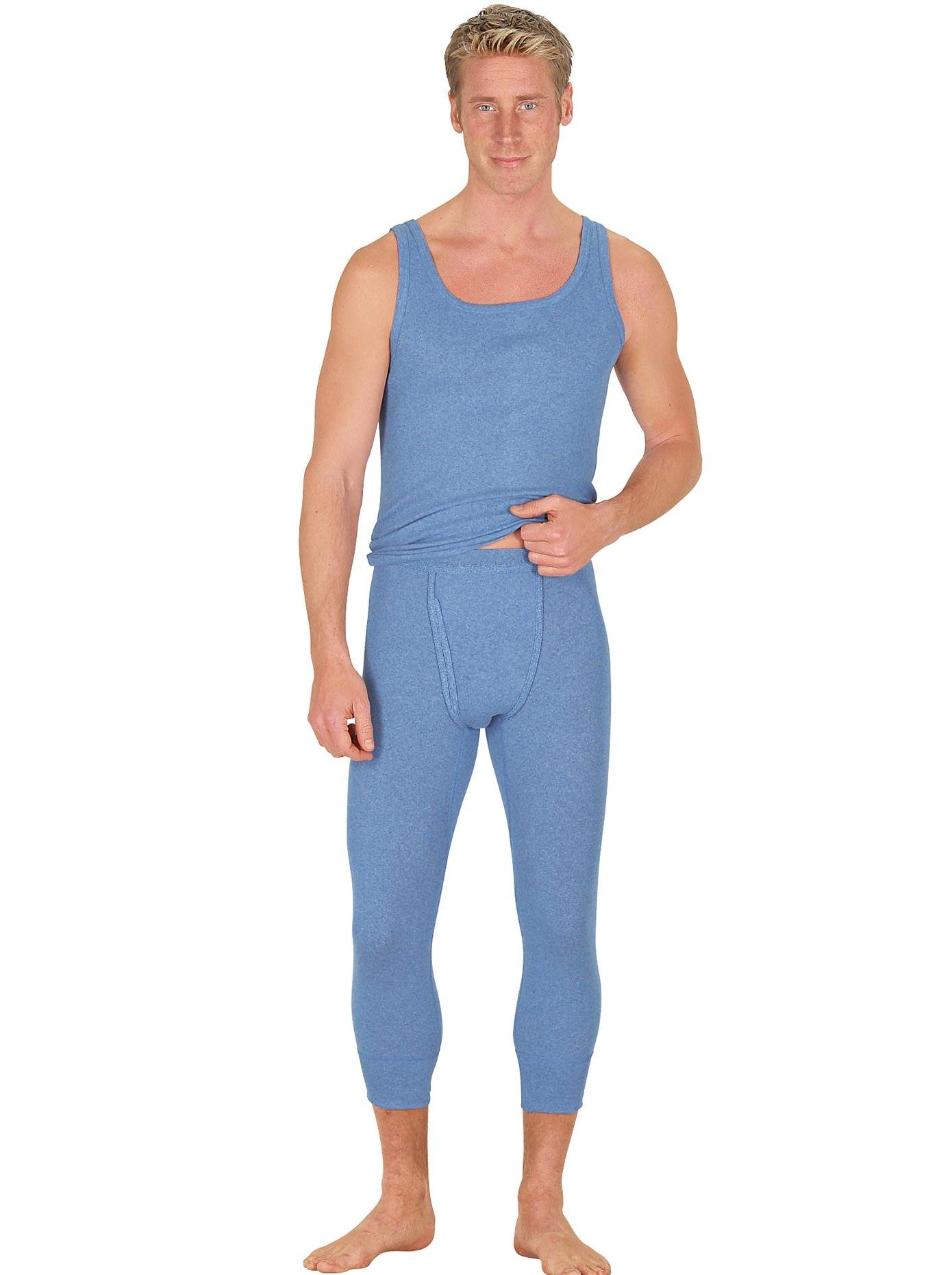 Wäschepur Unterhemden (2 Stck) | Bekleidung > Wäsche > Unterhemden | Blau | Kings Club
