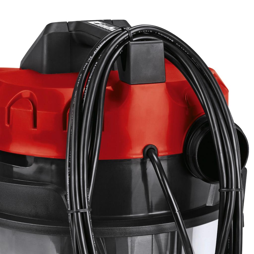 Einhell Nass-Trocken-Sauger »TE-VC 2230 SA«, Fehlluftregler am Handgriff Schaumstofffilter zum Nasssaugen inklusive Polsterdüse, Fugendüse, Kombidüse Geräteadapter