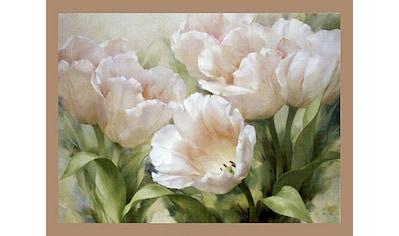 Home affaire Bild mit Rahmen »LEVASHOV / Pink Tulips«, (1 St.) kaufen