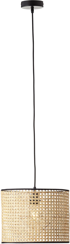 Brilliant Leuchten Pendelleuchte WILEY, E27, 1 St., Hängeleuchte, Kabel kürzbar; für LED-Leuchtmittel geeignet; dimmbar über externen Dimmer bei Verwendung eines geeigneten Leuchtmittels, Wiener Geflecht