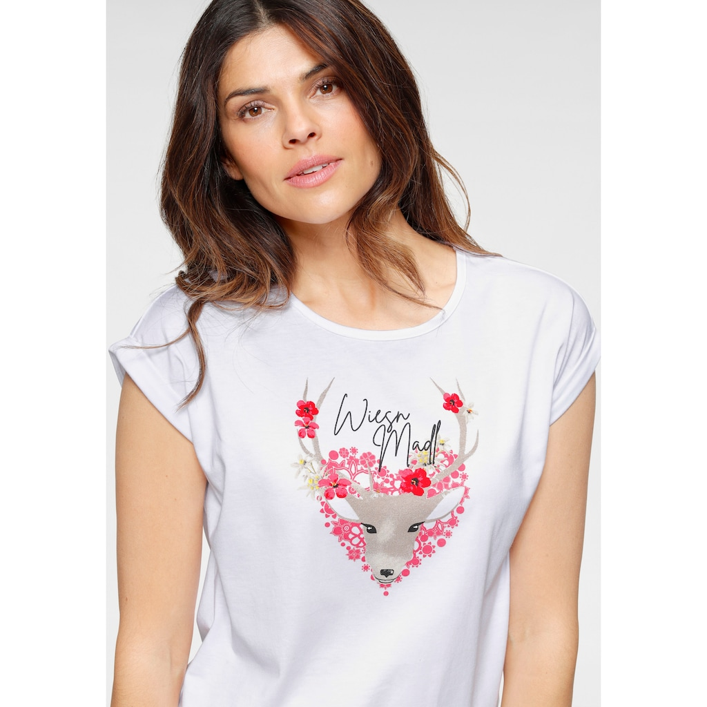 Boysen's Print-Shirt, mit Wiesn-Aufdruck